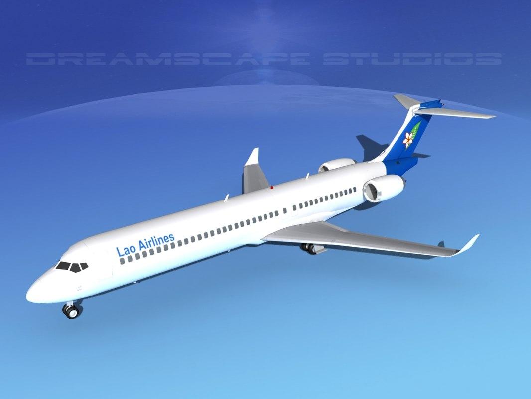 3d comac airliner model