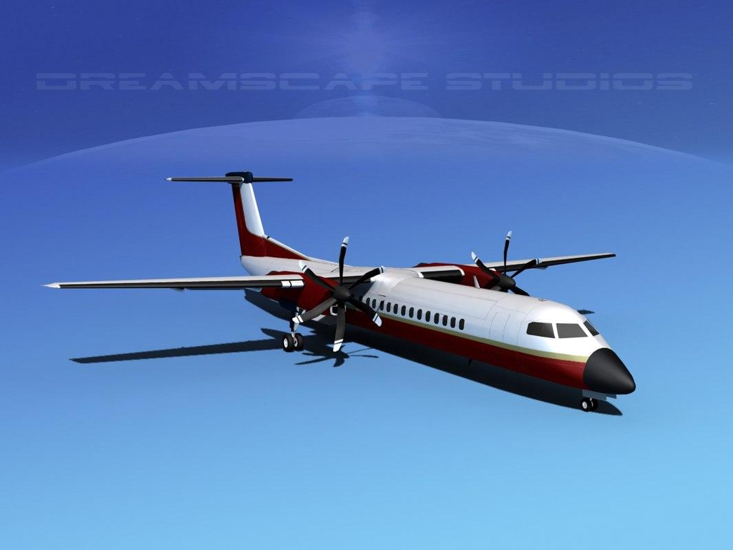 dhc-8-400 400 max