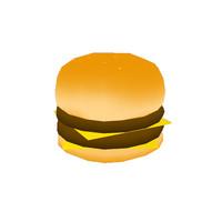 3d ma burger toon