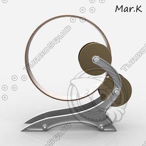 perpetuum woodward s wheel 3ds
