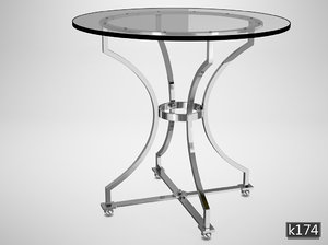 3d model eichholtz table russell