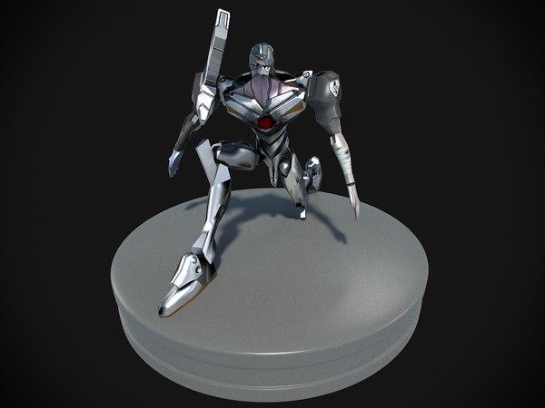 3d ma toy figurine