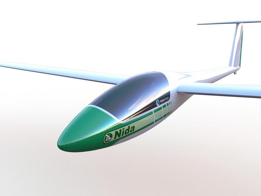 free lak-11 nida 3d model