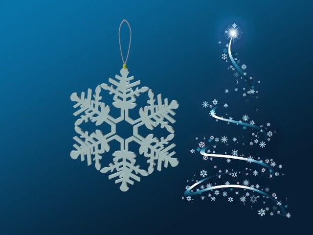 snowflake ornament 3d max