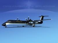 3d model dhc-8-400 400