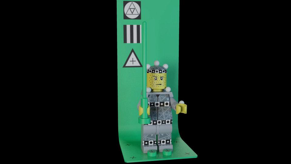 3d lego mini vfx motion capture