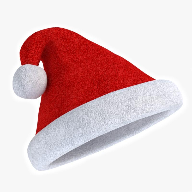 D santa hat