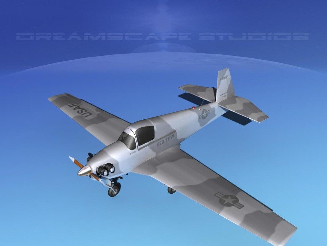 built mooney m-18 mite 3d 3ds