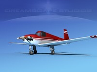3d model of built mooney m-18 mite