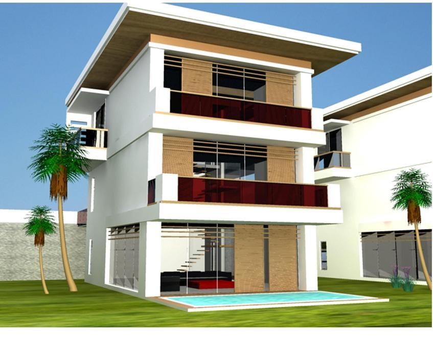 modern villa site house max