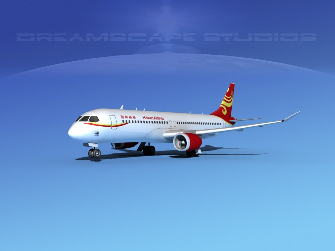 3d comac airliners model