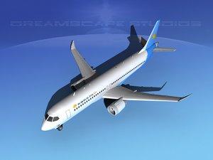 comac c919 airliners 3d model