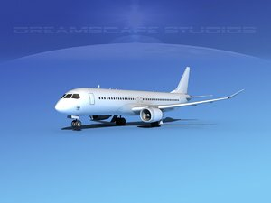 3ds comac c919 airliners