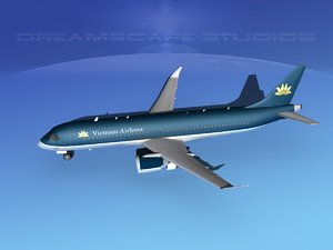 3d model comac airliners