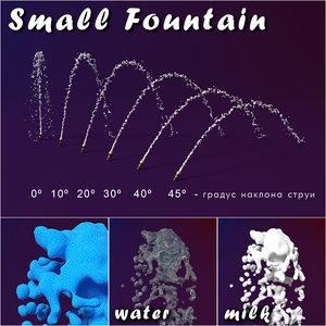 splash fountain 3d model