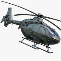 3d military helicopter