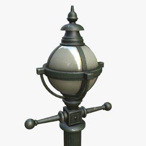 3d model asset polys light