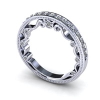 Verragio Wedding Band Bead