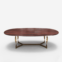 dining table pliet rugiano 3d max