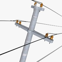 electric pole 3ds
