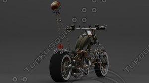 custom bike c4d