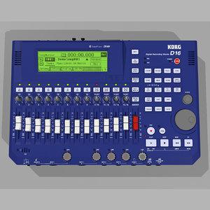 3d model digital track multitrack