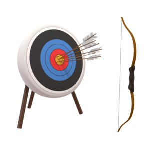 archery bow 3d model