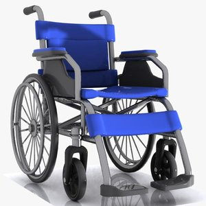 wheelchair chair 3d max