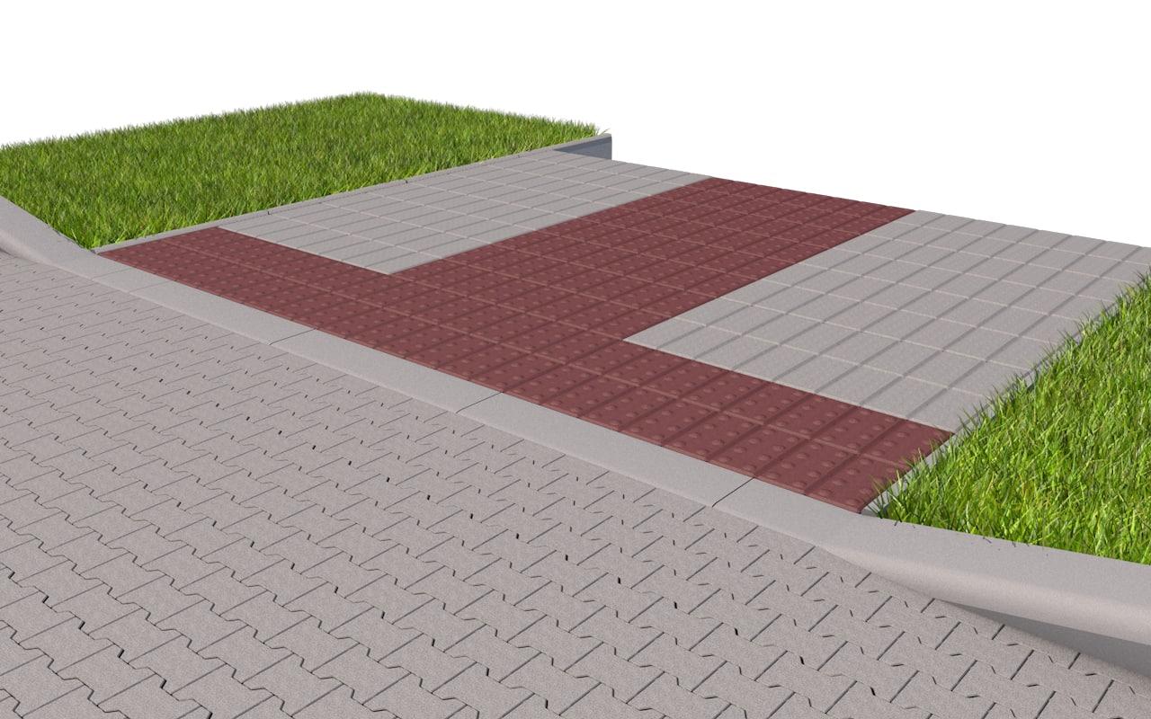 grass curb 3ds