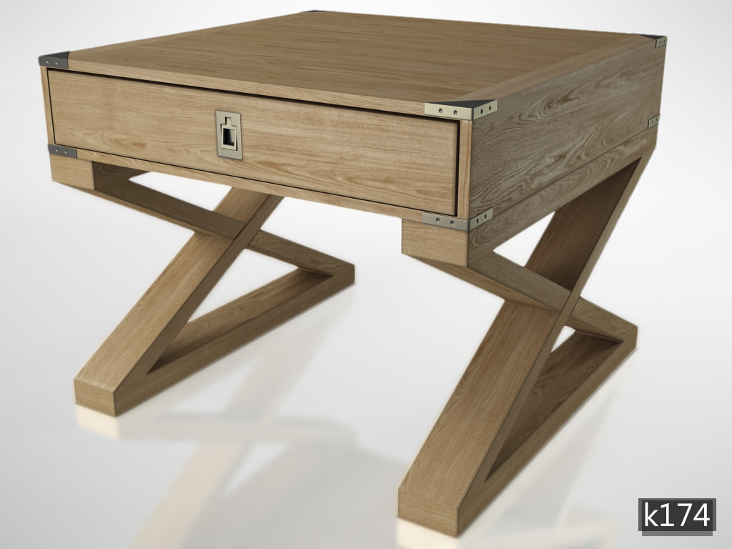 3d model table wisconsin console
