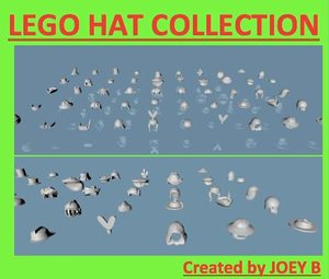 lego hat 50 3ds