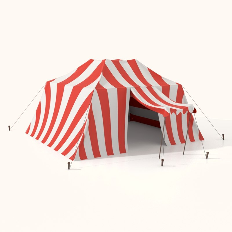 3dsmax coon tent