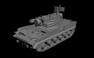 3d model tunguska aa