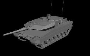 leopard 2a6 tank max