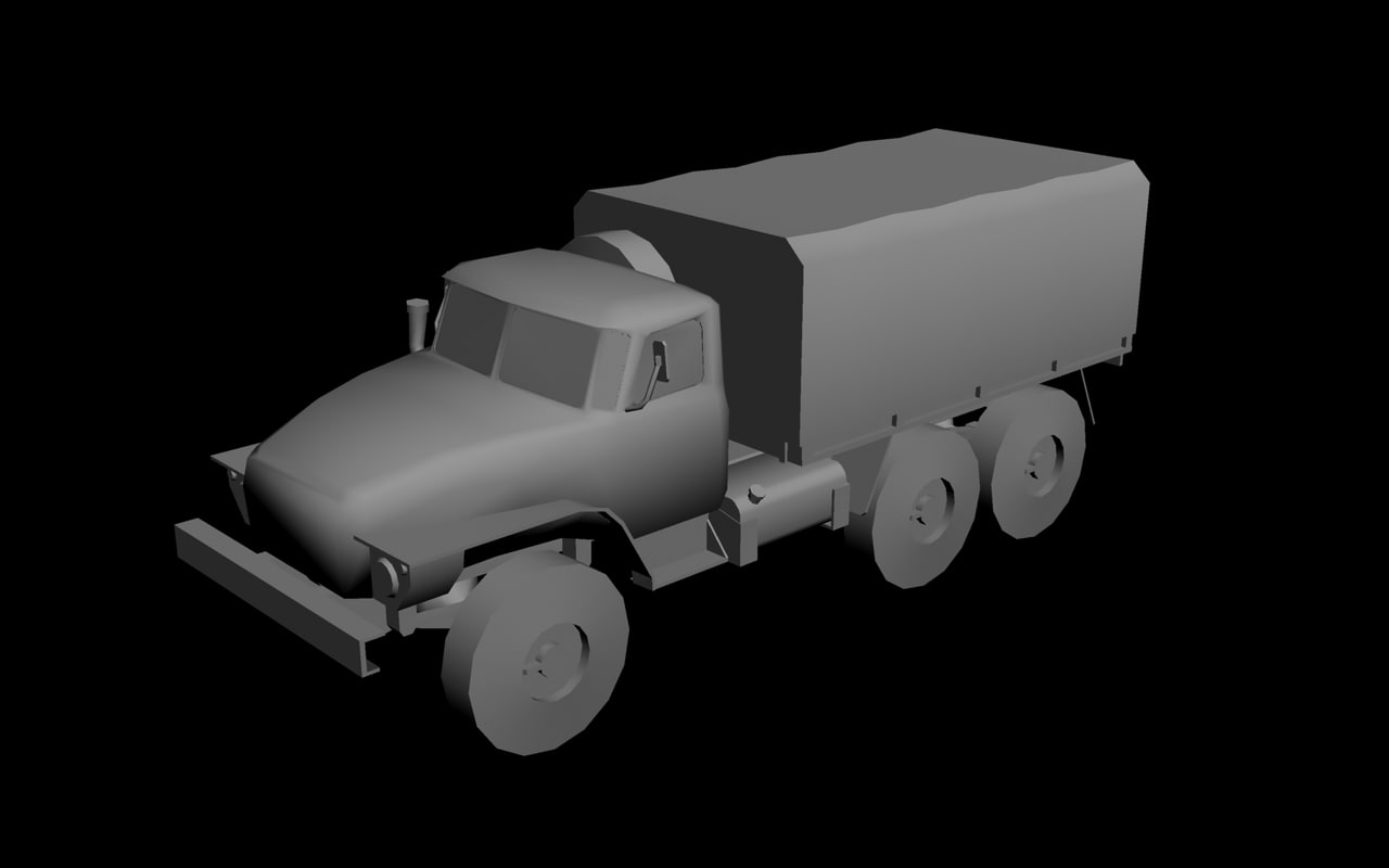 maya ural truck