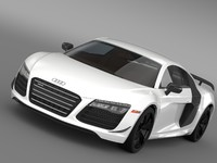 audi r8 competition 2015 3ds
