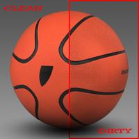 3d model basket ball