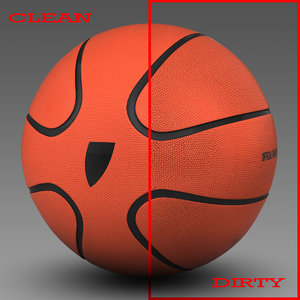 3d model basket ball