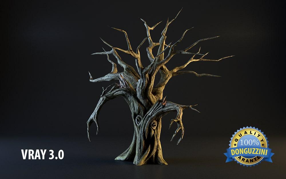 3dsmax monster tree