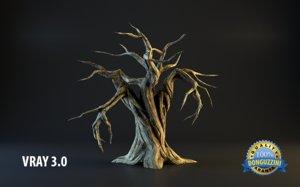 monster tree 3d max