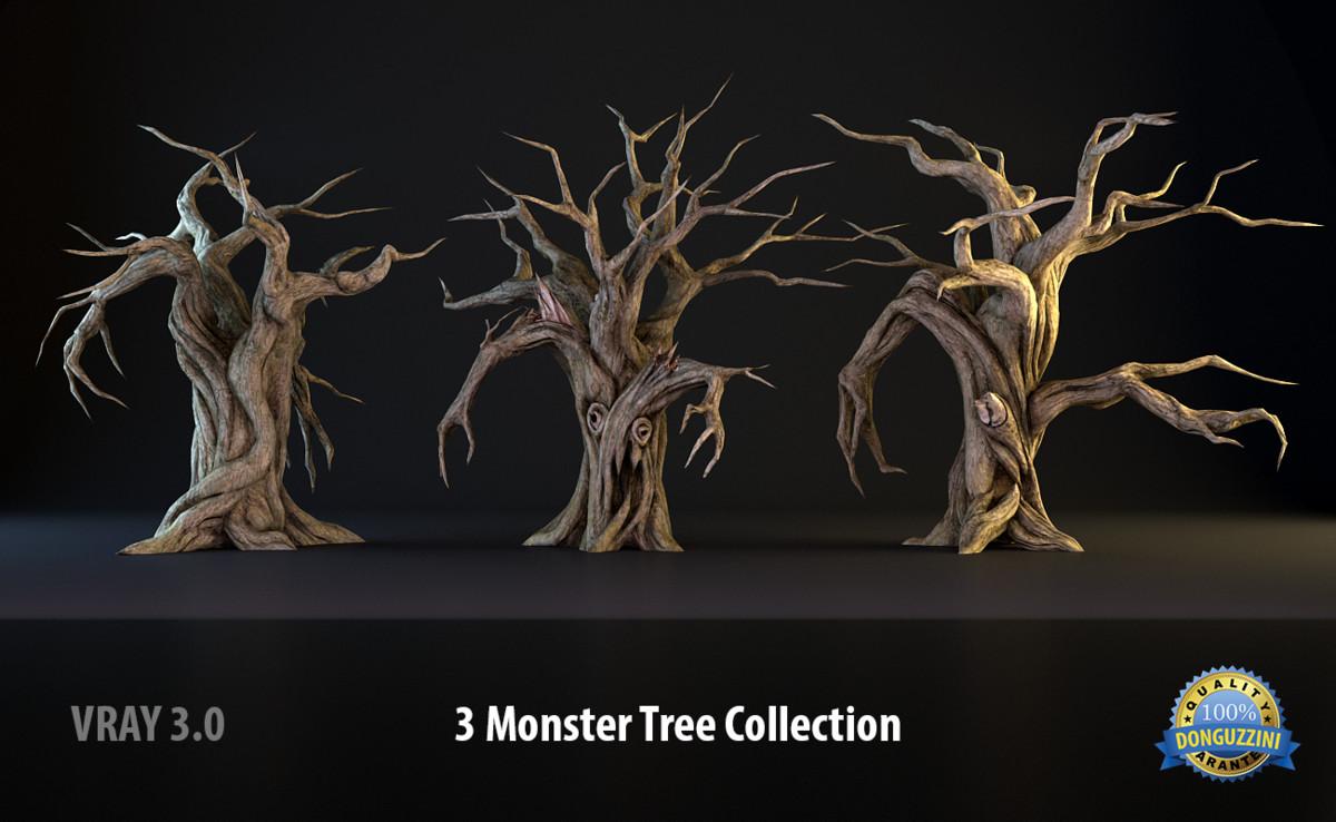 3d monster tree