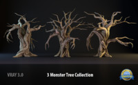 Three Monster Tree Collection