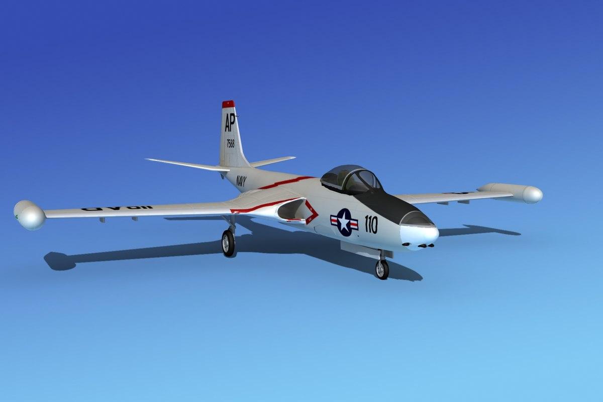 lwo cockpit f2h banshee jet fighter