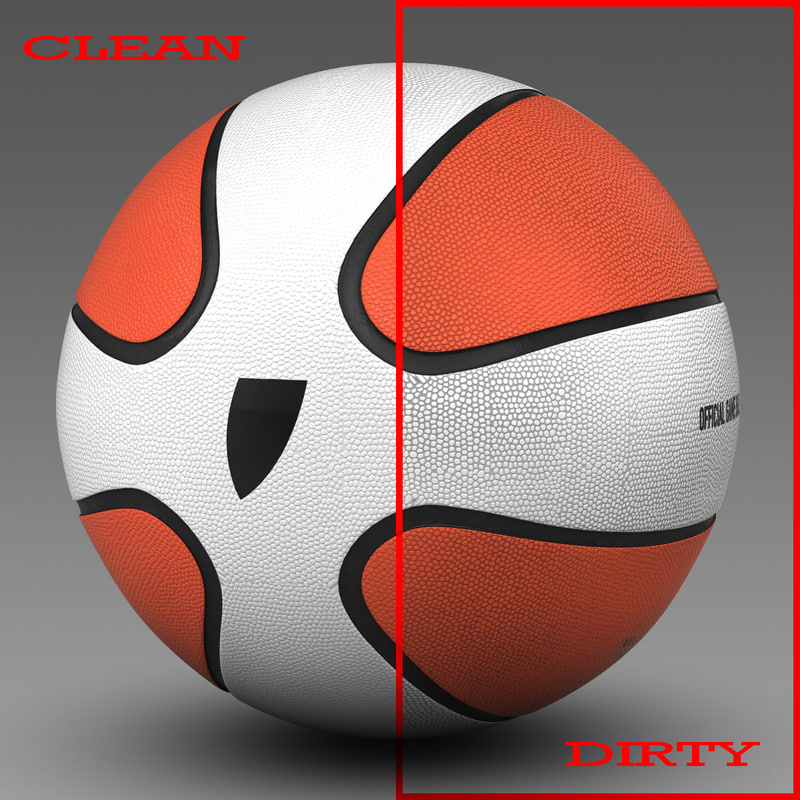 basket ball 3d c4d