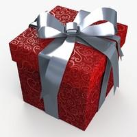 dxf christmas gift present box