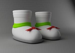 3d shoe
