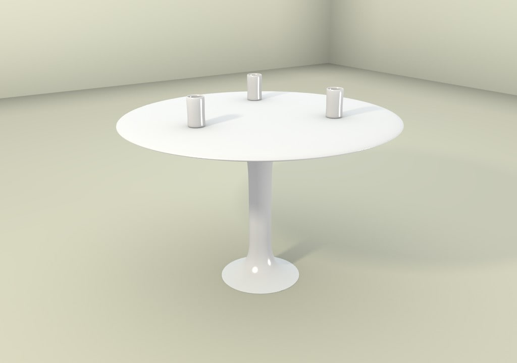 modern coffee table blender 3d 3ds