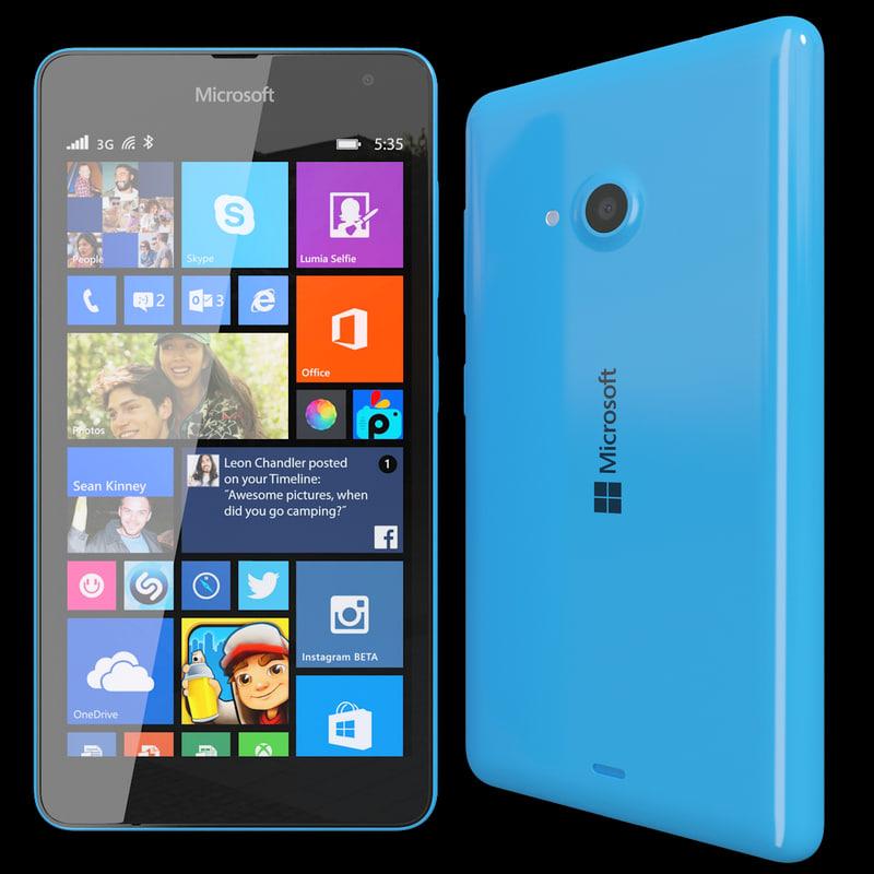 max realistic microsoft lumia 535