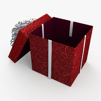 Christmas BOX Open2 Ribbon2