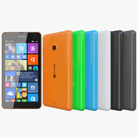 Microsoft Lumia 535 All Colors